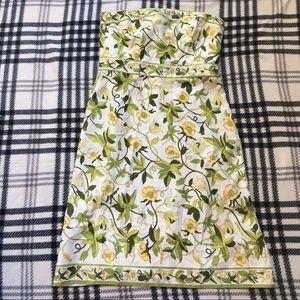 Ann Taylor yellow flower dress sz 10
